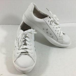 Ann Taylor Loft White Star Sneakers
